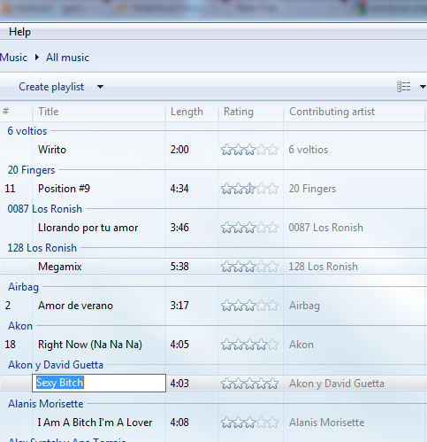 1biblioteca de windows media player 12