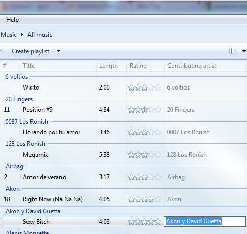 2biblioteca de windows media player