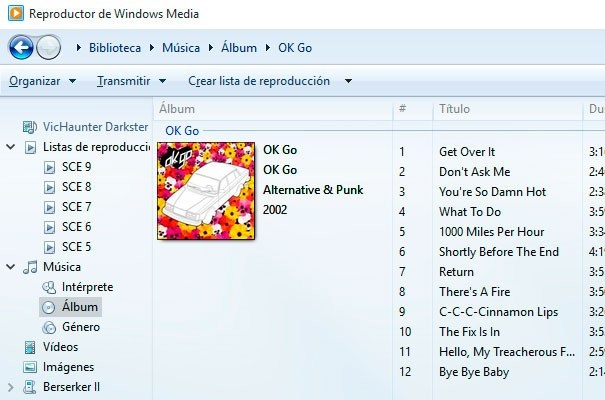 colocar o cambiar caratula de cancion o biblioteca de windows media player windows 10
